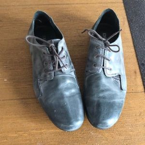 Diesel leather shoes